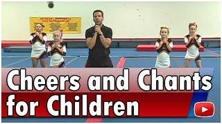 Cheerleading for Children - Cheers and Chants - Coach Jason Mitchell