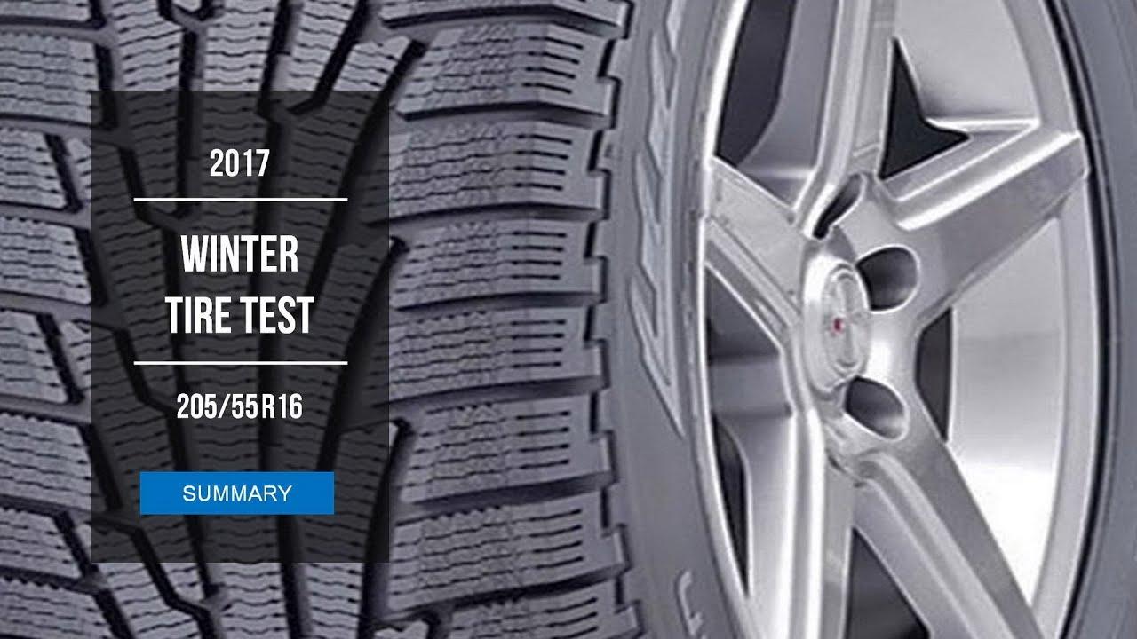 2017 winter tire test results 205 55 r16 youtube. Black Bedroom Furniture Sets. Home Design Ideas