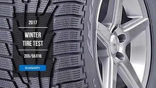 2017 Winter Tire Test Results | 205/55 R16