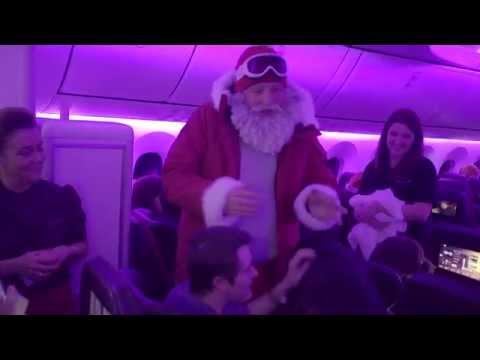 A Festive Flight onboard VS11