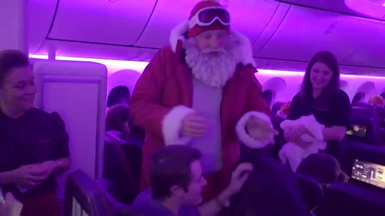 A Festive Flight onboard VS11