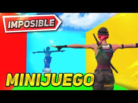 *EL ARCOIRIS IMPOSIBLE* SLIDE 2 MINIJUEGO FORTNITE CREATIVO