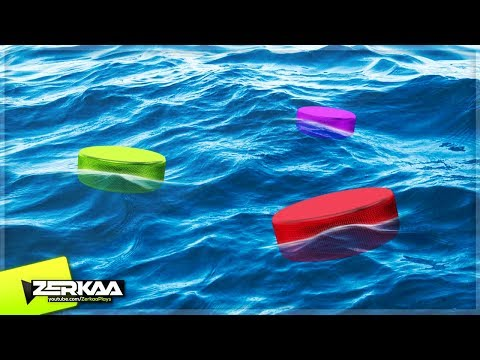 HOCKEY PUCKS ON WATER! (Golf With Your Friends)