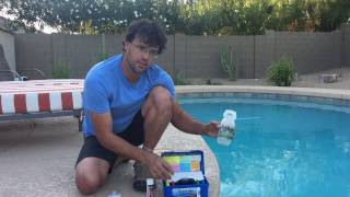 How to test your pool water the right way