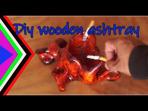 DIY Wooden ashtray , DIY Woodworking Projects and Plans