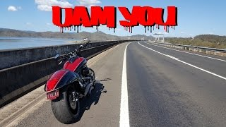 MotoVlog ★4. Dam Mirror! 1800cc M109r Suzuki Boulevard. Will I ever fly the drone?