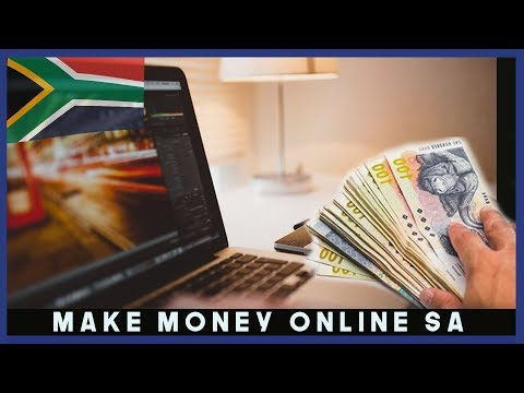 How To Make Money Online In South Africa