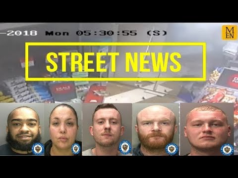 2 Robbery Gangs Jailed (West Midlands +Stockport) Cash Machines #StreetNews