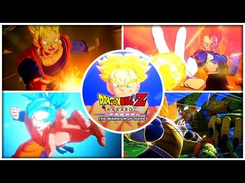 Dragon Ball Z: Kakarot - All DLC Boss Finishing Moves (Japanese)  