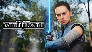 Star Wars Battlefront 2 - Funny Moments #14 Rey