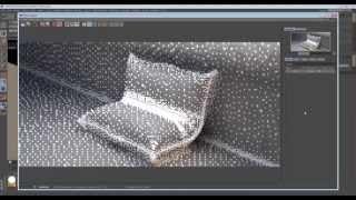 Принцип моделирования подушки со складками CINEMA 4D