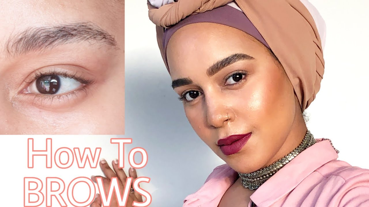 PERFECT BROW TUTORIAL FOR BEGINNERS|Beginners eyebrow ...