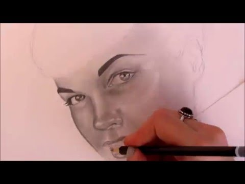 Bettie Page – Speed Drawing