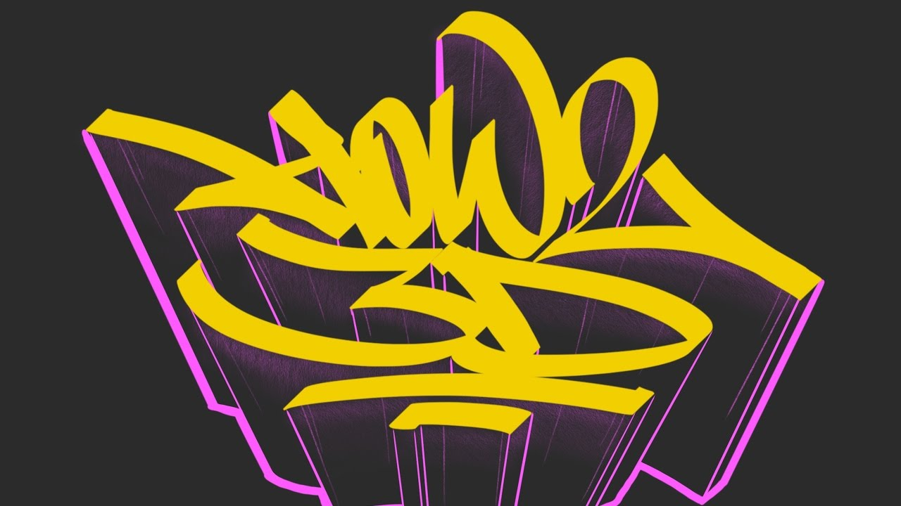 how to draw 3d letters adding 3d to graffiti letters