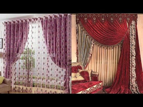 Beautiful Curtains For Living And Bedroom Ideas