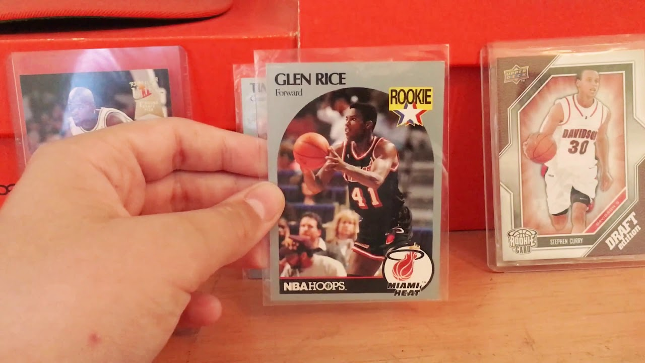 Glen Rice Rookie Card Review