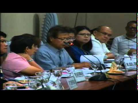 Committee on Environment and Natural Resources (July 8, 2014)