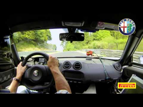 Alfa Romeo 4C au Nürburgring