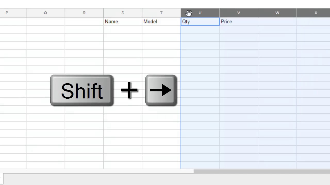 How to add more columns | multiple columns in Google sheets