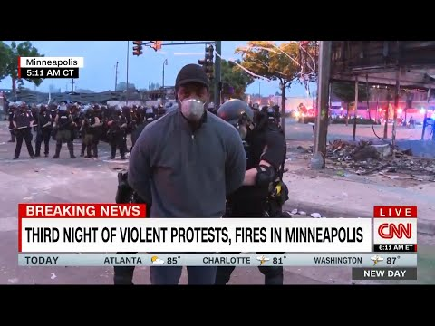 Black CNN Reporter Arrested Live On TV By Minnesota Police While Covering Race Protests