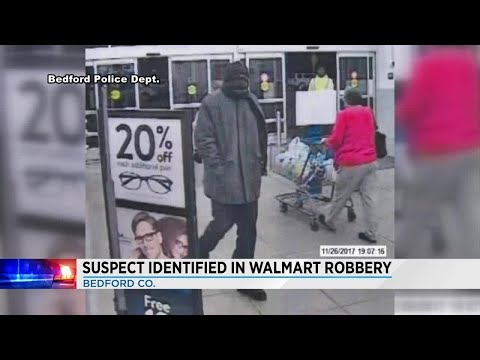 Bedford Police Looking For Suspect In Walmart Robbery