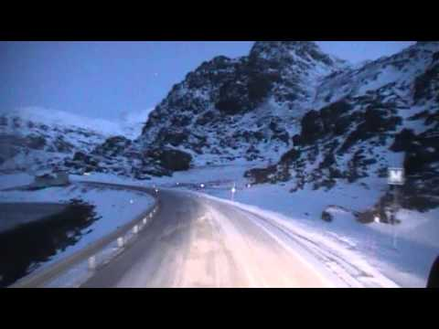 VOLVO truck on Norway winterroads