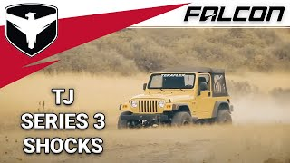 Falcon Shocks: TJ Series 3 Piggyback Shock Absorbers