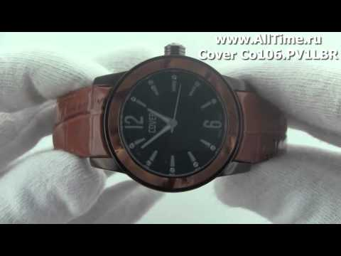 Женские наручные швейцарские часы Cover Co106