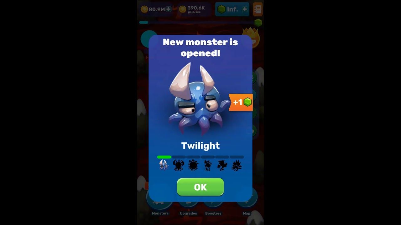 Tap Tap Monsters: Evolution Clicker - ALL Creatures Planets