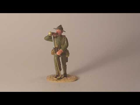 WW1 Toy Soldier. Regal Minature New Zealand soldier Gallipoli Campain