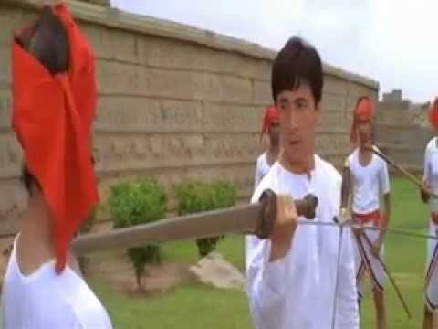 Jackie Chan Sword Fight Scene