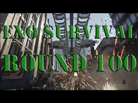 Call of Duty Advance Warfare Exo Survival Detroit round 100