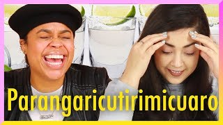 Latinas Try Spanish Tongue Twisters While Drinking Tequila