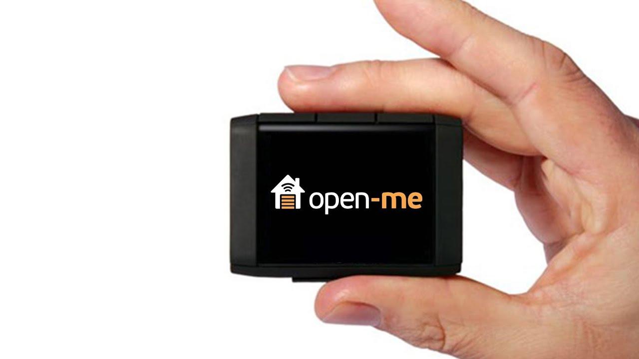 open garage door with phoneOpenMe App  Open Your Garage From Your Phone  YouTube