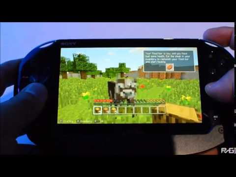 how to play minecraft on ps vita