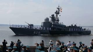 Парад кораблей и авиации на день ВМФ Кронштадт 29 июля 2018