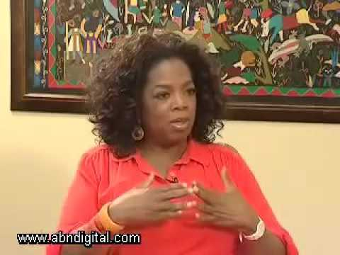 Oprah Winfrey with Exclusive Interview -  Mentioned African girls ... Part 2