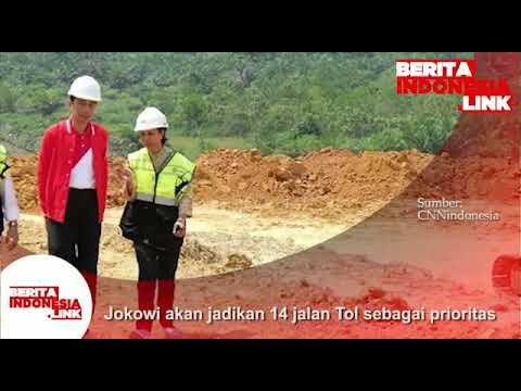 Presiden Jokowi akan jadikan 14 jakan Tol sebagai Prioritasnya