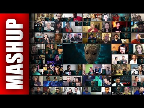 Guardians of the Galaxy 2 Trailer Reaction (80+ Reactions)
