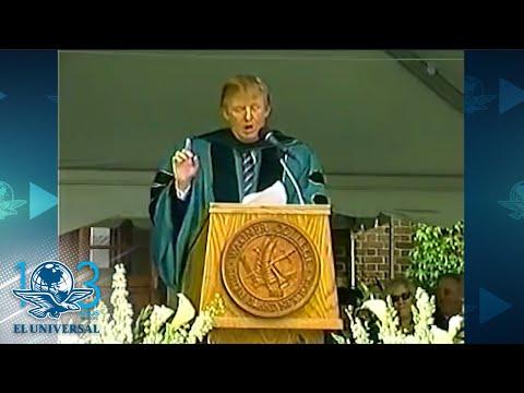 Increíble: el video donde Trump aconseja no detenerse ante los muros