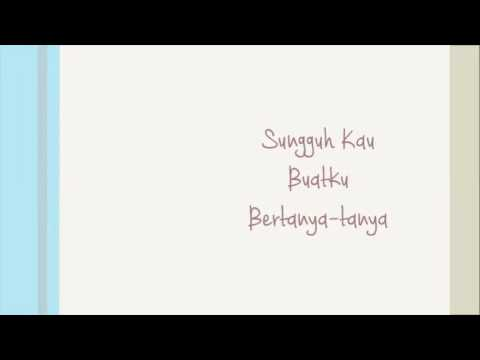 Raisa - Teka-teki lyrics