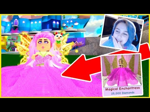 I SPENT ALL MY ROBUX ON THIS DRESS 👗 IN ROBLOX ENCHANTIX HIGH SCHOOL!