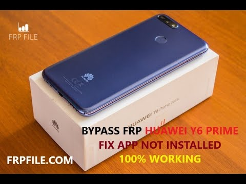 Solution Bypass FRP Lock Huawei Y6 prime 2018 (ATU-L42) Fix App not  installed