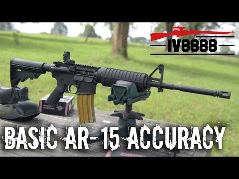 Basic AR-15 Practical Accuracy