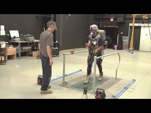 US Army RDECOM - Army Evaluates DARPA's Futuristic Lightweight & Soft Robotic Exosuit [1080p]