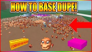 HOW TO BASE DUPE! (NEW METHOD!) [NOT PATCHED!] LUMBER TYCOON 2 ROBLOX