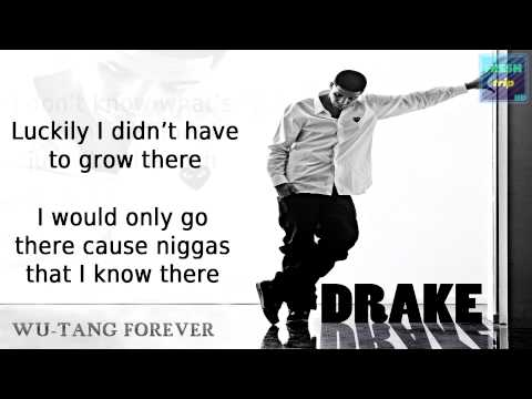 Drake - Wu-Tang Forever [Official Lyric Video] 1080p HD