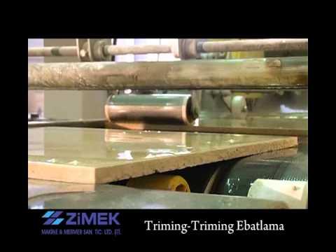 Marble Cutting Machines - Trimming and Cross Cutting-Marmo Macchina di taglio
