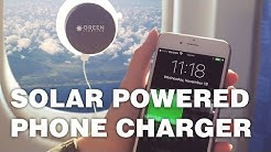GreenLighting Solar Charging Battery - Suction Cups To Any Window