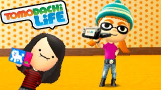 Tomodachi Life 3DS Splatoon Mii Inkling Girl, Creeper's B-Day Gameplay Walkthrough PART 52 Nintendo